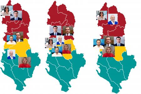 Ndryshon Harta Politike në Shqipëri- Rivalët e 25 prillit, mes tyre dhe Albin Kurti
